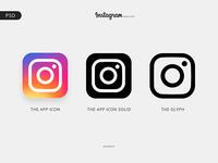 Instagram Logo - Free PSD