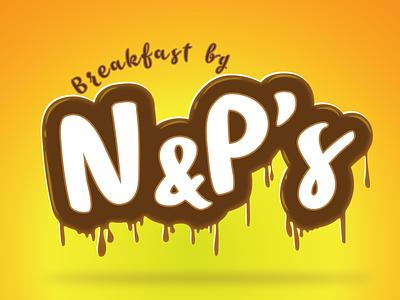 Breakfast by N&P's daily challenge art breakfast animation vector graphic design typography design logo