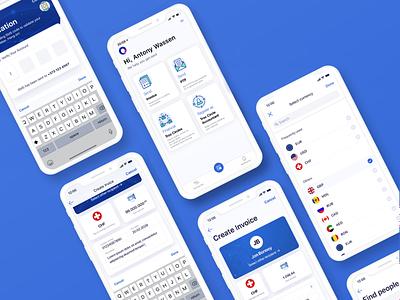 Troc Circle financial app financial invoice finance mobile application finance app fintech