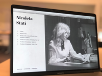 Nicoleta Stati. Homepage artgallery