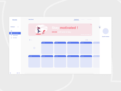 Boardie UI design productdesign product saas web animation ui digital design
