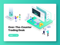 Over-the-Counter Cryptocurrency Exchanges graphic design