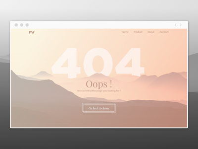 404 page 404page design dailyuichallenge dailyui