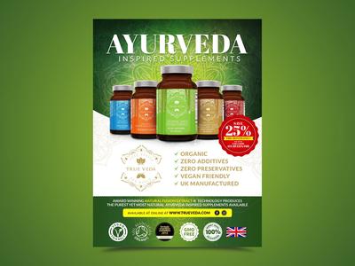 Design Print Advert For Natural Health Magazine