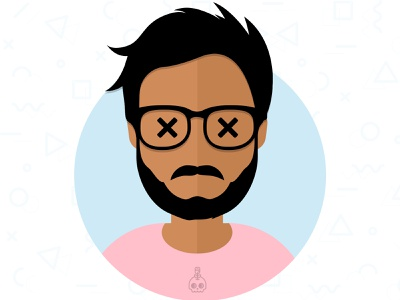 New Profile Picture character face vector branding design illustration profile photo picture profile