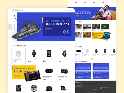 E-Commerce Website 5 minimal sketch e-commerce graphicdesign branding website web ux ui design
