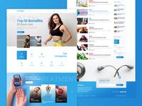 Health Blog Site
