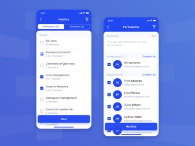 G-Control App – Mobilize
