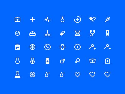 Medical icons viruses pills pack set vector outline icon icons pharmacy drug medicines hospital medical med
