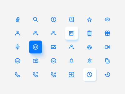 Icons for chat