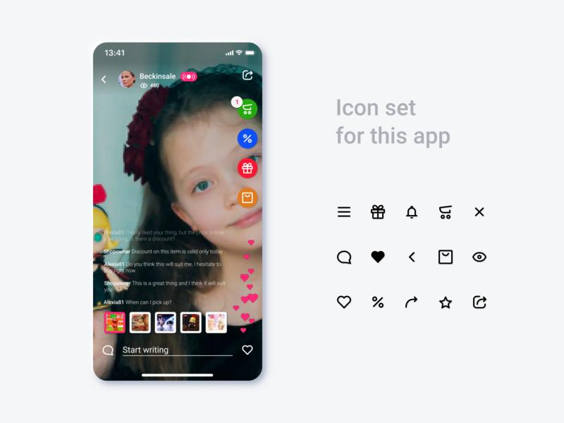 Design process icon design iconography process ui design custom pack set icons