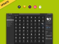Medical icons - update! icon kit sketch vector ui design ambulance adobexd figma iconpack iconset icons app medical