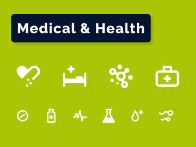 Medical & Health Icons Set iconography bacteria virus help doctor heart monitoring sperm sex aid first rescue ambulance tablets pills pharmacy fitness health medical icons