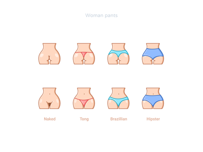 Woman pants icons design mode summer brazillian hipster string tong naked sexual sexy pants woman icons