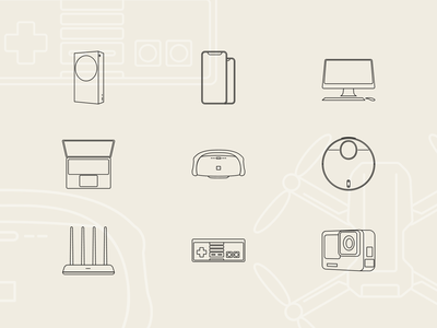 Free Tech & Electronic Technology icons #2 controller nes xbox macbook imac scale smart illustraion illustrator svg illustration devices tech freedownload freebie free icondesign icons pack iconset icons