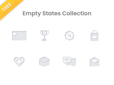 Free Empty State Collection status freebies appdesign webdesign ux icondesign illustration sketch uidesign design icons vector ui freebie free figmadesign figma emptystate state empty