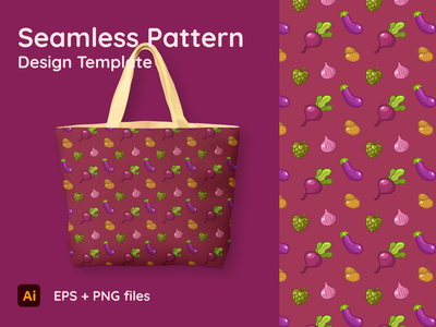 Theme starring Beep - Seamless Pattern textures textile bag background ornament potato chips hop onion textured eggplant patterns seamless artwork food vegetables pattern texture beep