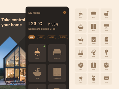 Customize your interface with my icons solid freebie free workspace remote app control home smart figma icons design ui customize
