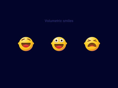 Volumetric smiles icons vector sketch icon head pain laught happy faces figma ui glassmorphism volumetric 3deffect 3dvector 3d emoji smiles glassmorpgism 3dicons