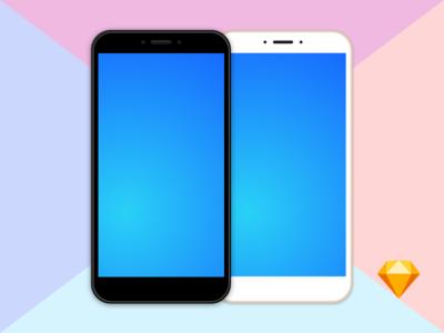 Free Clean MockUp Xiaomi Mi Max 2