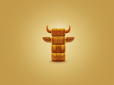 Totem totem maya tribe shaman tree mezzo tothem icon yellow game