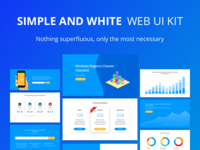 Simple And White Ui Kit