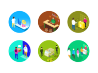 Circular Collection of illustrations