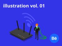 illustration vol. 01 on Behance