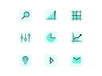 Line & Fill icons set