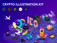 Crypto Illustration Kit - Free Update!