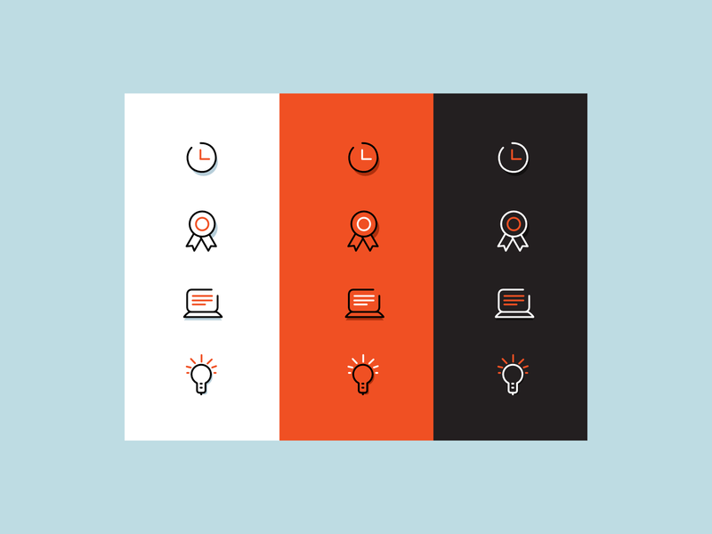 How color palette? icons palette style color brand