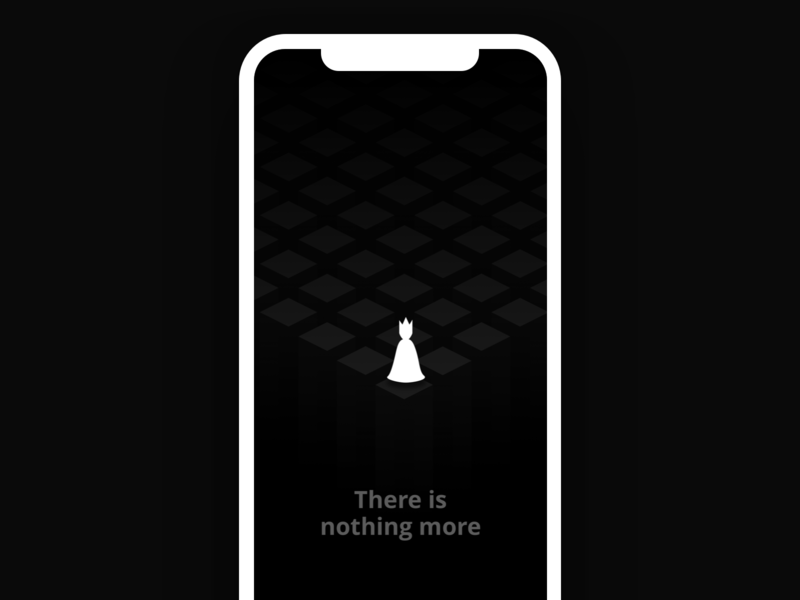 There is nothing more dark found not 404 state empty game app ios