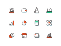 More icons in new style