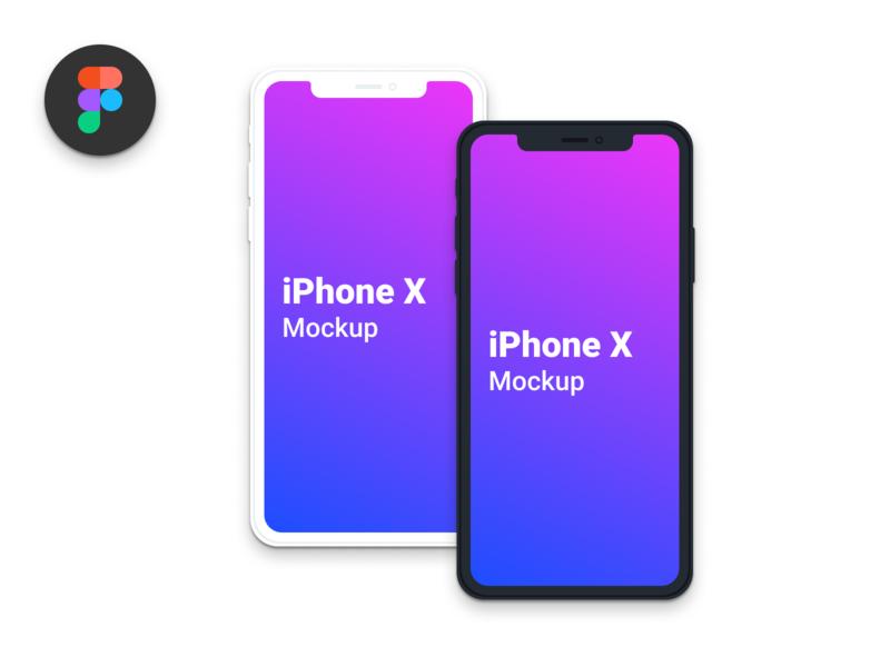 Free iPhone X - Clean Mockup mockup minimalistic clean download free iphonex iphone mobile figmadesign figma