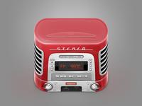 Icon retro music box