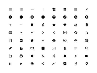 Free Icons Set (Figma)