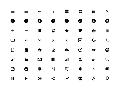Free Icons Set (Figma) start solid png svg vector sketch figma freebie pack set icons free