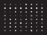 64 free essential icons