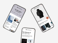 Mobile design of Open Wear