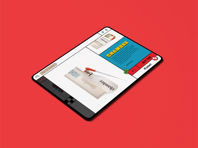 Studio Job ecommerce detail page ui ux desktop bag search red photography breadcrumb product branding ecommerce button menu animation overlay interface site webdeisgn website logo
