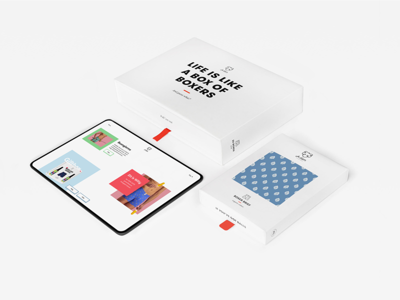 A-dam Underwear identity red color type text font typography photography menu filter icon webdesign website mockup art design ux ui ecommerce packaging logo