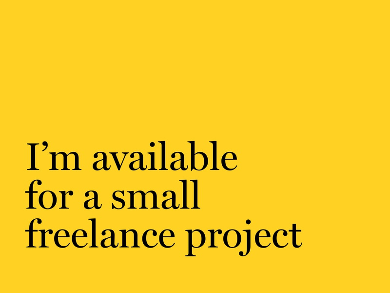 Hi there webdesign ux ui freelance designer concept creative designer art director art project freelancer brand typography available work job freelance design logo branding
