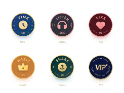 Study Badges