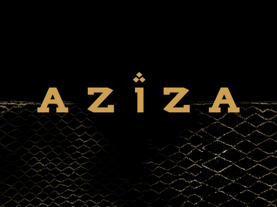 Aziza Coming Soon Animation cuisine food experiences web web design food and beverage restaurant ui motion dynamic animation after affects atlanta design