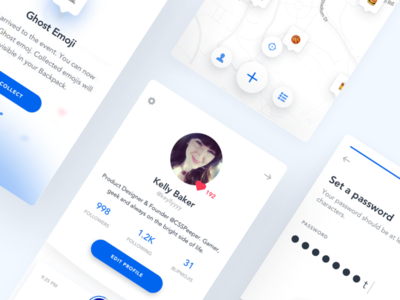 BlipMe - User profile