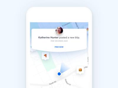 BlipMe - In-app notification