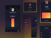 Midnite UI Kit - Sneak peek #2