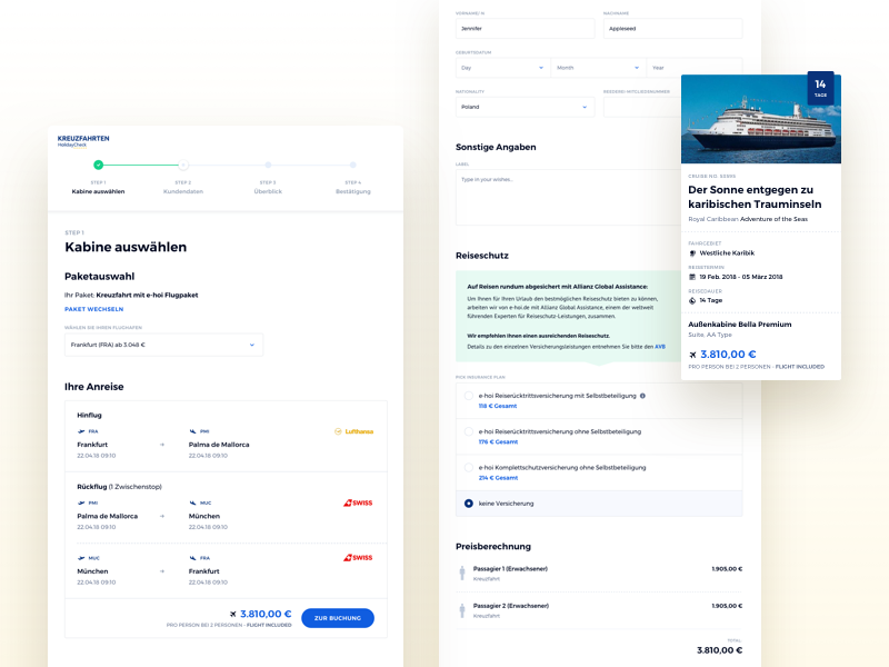 📬 Booking Funnel #2 booking funnel holidaycheck travel cruises cruise holiday