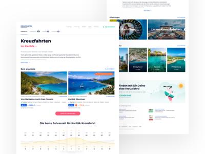 HolidayCheck Cruises - Destination weather chart page landing destination cruises
