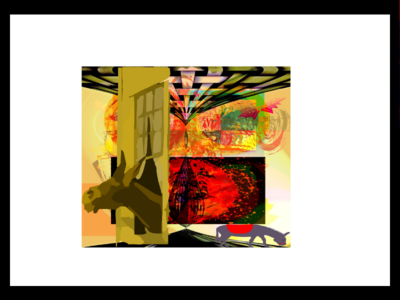 Don T Forget Who You Are   2019 08 02t082149.757 fire travel farm simple animals abstract intrigue illustration story a donkey